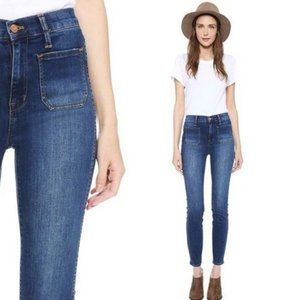 MADEWELL • High Waisted Skinny Sailor Jeans